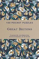 Great Britons: 100 Pocket Puzzles