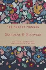Gardens & Flowers: 100 Pocket Puzzles