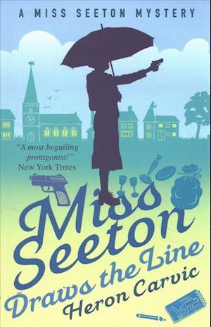 Bog, paperback Miss Seeton Draws the Line af Heron Carvic