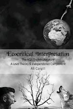 Ecocritical Interpretation