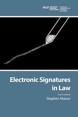 Bog, hæftet Electronic Signatures in Law af Stephen Mason