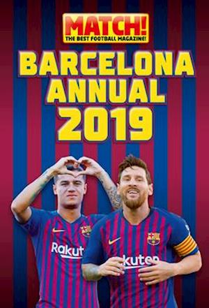 The Official Match! Barcelona Annual 2020
