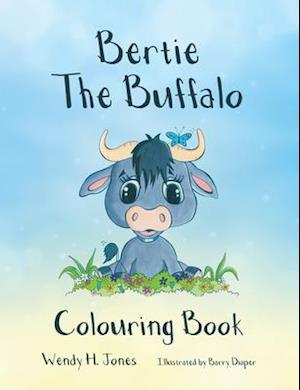 Bertie the Buffalo Colouring Book