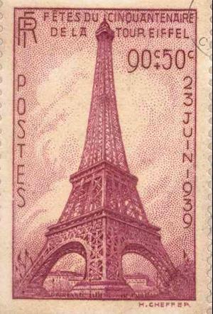 Small Spiral Notebook - Paris Stamp