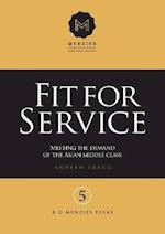 Fit for Service (R G Menzies Essays, nr. 5)