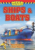 Ships & Boats Mega Machines (Super Explorers)