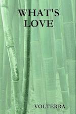 WHAT'S LOVE af Volterra