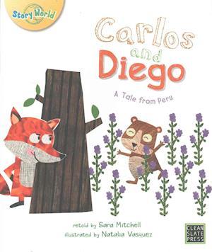 Bog, paperback Carlos and Diego af Sara Mitchell