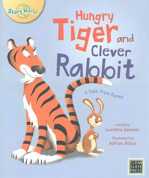 Bog, paperback Hungry Tiger and Clever Rabbit af Lucretia Samson