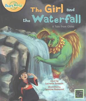 Bog, paperback The Girl and the Waterfall af Lucretia Samson