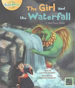 The Girl and the Waterfall af Lucretia Samson