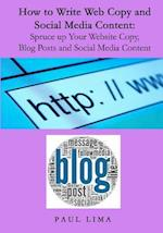 How to Write Web Copy and Social Media Content