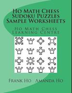 Ho Math Chess Sudoku Puzzles Sample Worksheets Bw Version af Frank Ho, Amanda Ho