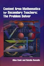 Content Area Mathematics for Secondary Teachers
