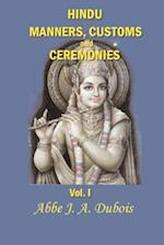 Hindu Manners, Customs and Ceremonies (Hindu Manners Customs and Ceremonies, nr. 1)