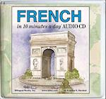 10 Minutes a Day Audio CD Wallet: French