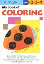 My Book of Coloring Ages 2-4 (Kumon Workbooks)