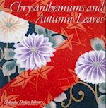 Chrysanthemums and Autumn Leaves