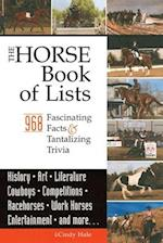 The Horse Book of Lists