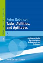 Tasks, Abilities, and Aptitudes (Trends in Applied Linguistics)