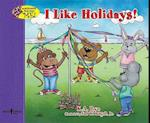 I Like Holidays! (Interactive Book about Me)