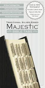 Majestic Traditional Silver-Edged Bible Tabs af Paper Expressions, Inc. Ellie Claire Gift