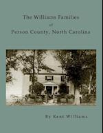 The Williams Families of Person County, North Carolina