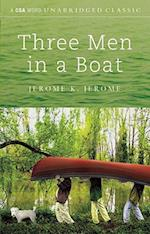 Three Men in a Boat [With Hardcover Book(s)] (CSA Word Classics Audio)