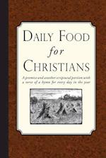 Daily Food for Christians af Religious Tract Society
