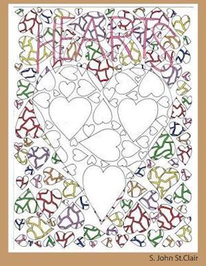 Bog, paperback Hearts af S. John St Clair