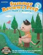 Summer Review & Prep Math & Reading Grade 1-2 (Kumon Summer Review & Prep)