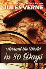 Around the World in 80 Days af Jules Verne