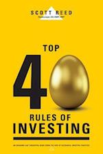Top 40 Rules of Investing