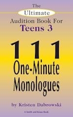 Ultimate Audition Book for Teens Volume 3