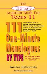 Ultimate Audition Book for Teens Volume 11