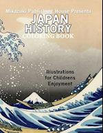 Japan History Coloring Book af Coloring Book, Mikazuki Publishing House