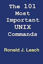 The 101 Most Important Unix and Linux Commands af Ronald J. Leach