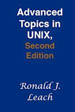 Advanced Topics in Unix, Second Edition af Ronald J. Leach