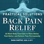 Practical Solutions for Back Pain Relief
