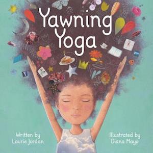 Bog, hardback Yawning Yoga af Diana Mayo