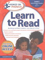 Hooked on Phonics Learn to Read Level 2 Pre-K, Ages 3-4 (Hooked on Phonics Learn to Read)