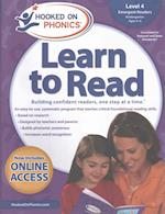 Hooked on Phonics Learn to Read Level 4, Kindergarten Ages 4-6 (Hooked on Phonics Learn to Read)