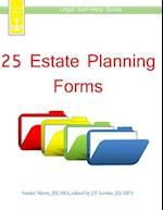 25 Estate Planning Forms
