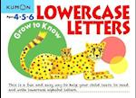 Grow to Know Lowercase Letters (Grow to Know Workbooks)