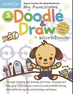My Awesome Doodle & Draw Workbook (Kumon Doodle and Draw)
