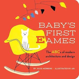 Bog, hardback Baby's First Eames af Julie Merberg