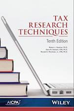 Tax Research Techniques af Robert L. Gardner