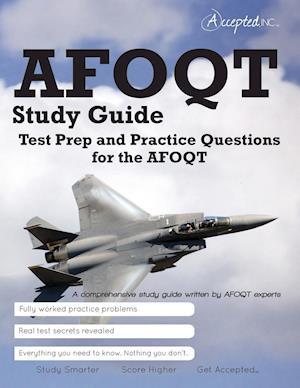 Bog, paperback Afoqt Study Guide af Inc. Accepted