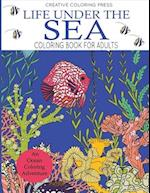 Life Under the Sea Coloring Book for Adults