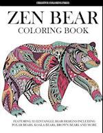 Zen Bear Coloring Book